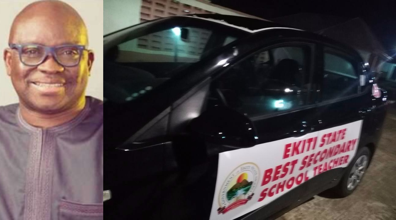 #WorldTeachersday: Check out the cars Governor Fayose will be presenting to the Best Teachers in Ekiti state today
