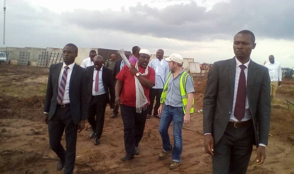 Photos: Imo state governor, Rochas Okorocha, is constructing new prison yard in the state
