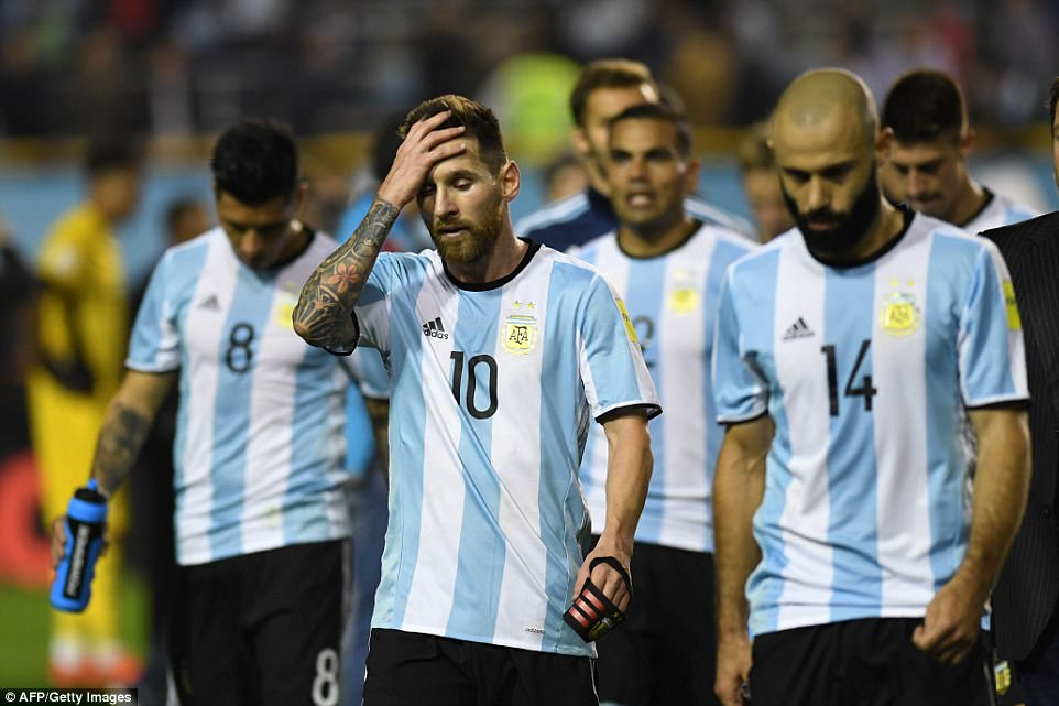 Lionel Messi and Argentina on verge of missing 2018 World Cup after playing bore draw with Peru
