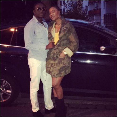 Emeka Ike finds love again, unveils his new South African boo & she