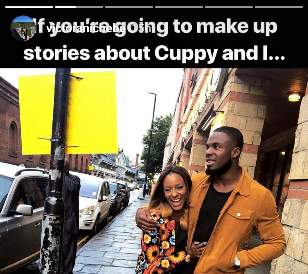 Victor Anichebe also debunks rumour that DJ Cuppy broke up with him