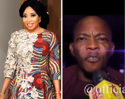 "Video: ""How does it feel to be made fun of?"" actress Liz Anjorin asks comedian Koffi who recently said he doesn"