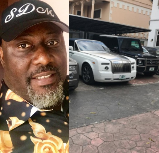 Image result for Dino Melaye's Rolls Royce Phantom Parked In His Living Room