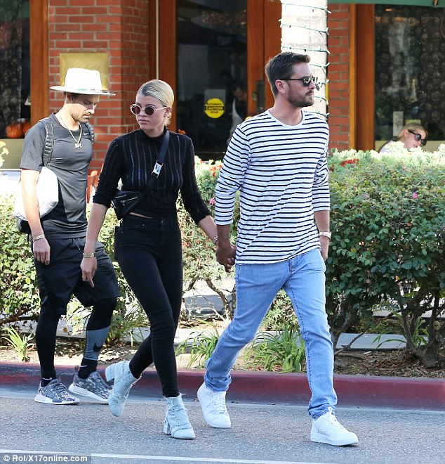 Kourtney Kardashian's Ex Scott Disick Kisses Sofia Richie After Father Criticizes Romance