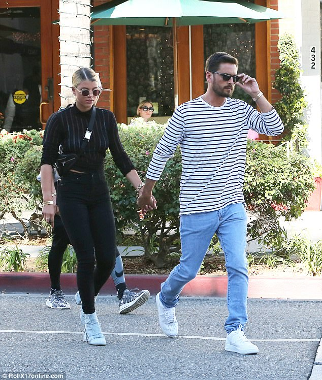 Scott Disick Kissing Sofia Richie Leads Today's Star Sightings