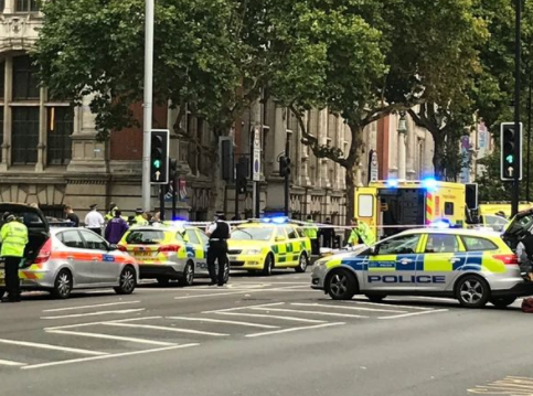 At least 11 people injured as car hits pedestrians near London