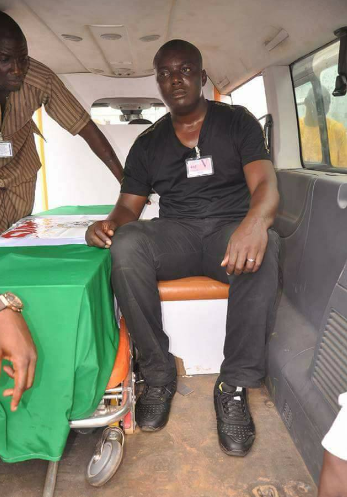 Photos: Remains of?ex-NANS president who died enroute India arrives Nigeria for burial