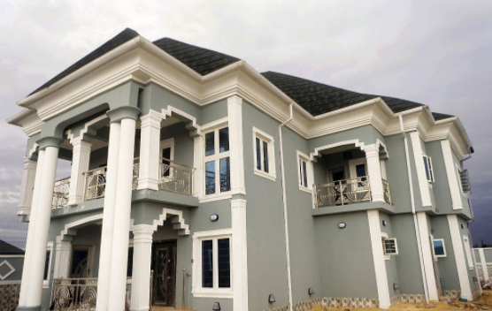 Comedian Akpororo builds new home, dedicates it to his wife and daughter