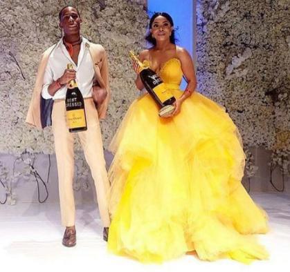Media personalities, Toke Makinwa and Denola Grey, win best dressed at Elite Model look 2017