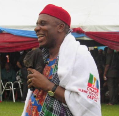 """The only man that can insult me, my wife, my mum and go free is Dr Peter Odili""- Rotimi Amaechi"