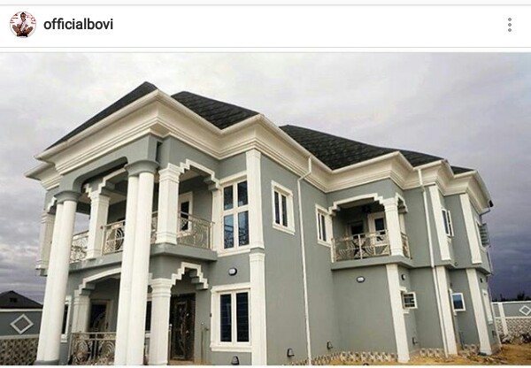 """You have removed scorn and shame from our eyes"" - Comedian Bovi congratulates Akpororo on his new home"