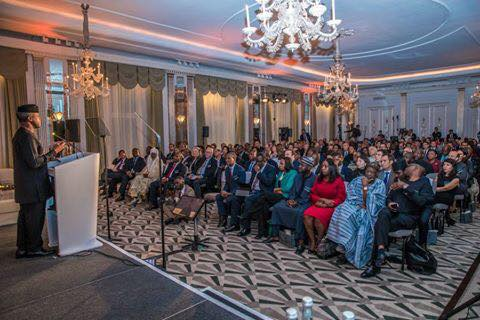 Photos: Vice President Yemi Osinbajo delivers keynote address at the Financial Times Africa Summit in London