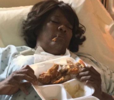 Lol. Movie director shares photo of actress Loretta Divine sleeping on set of a movie
