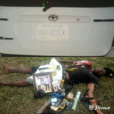 Photos: One kidnapper killed, another arrested in Cross River State as police rescue woman five days after abduction