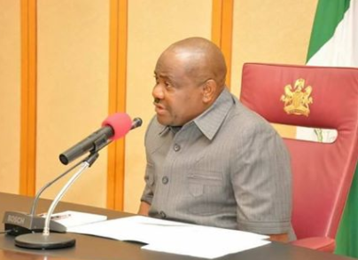 """""""Politics by the police is distorting the security architecture in my state"""" Rivers Governor, Nyesom Wike, says"""