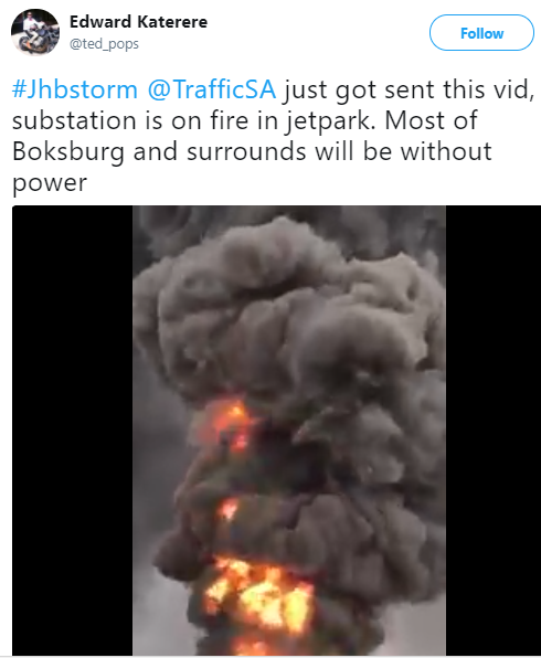 One person reported dead, scores injured as severe storms wreck havoc in Gauteng, South Africa