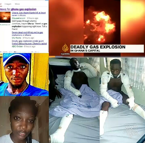 Actress Juliet Okeke praises God for the life of her brother who survived the gas station explosion in Ghana