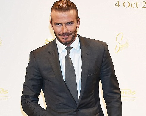Retired footballer David Beckham earns