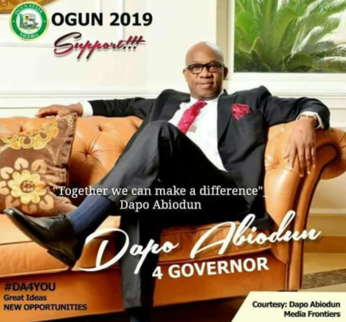 Photos:?Late Dj Olu?s father, Dapo Abiodun is contending to become next Ogun state governor