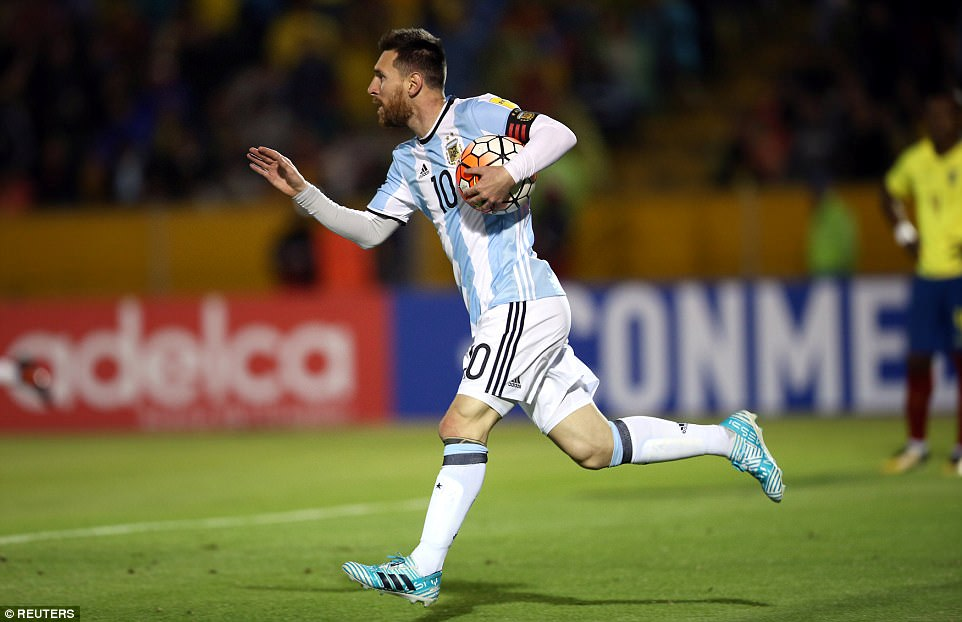 Lionel Messi sends Argentina to World Cup 2018 with magnificent hat-trick against Ecuador