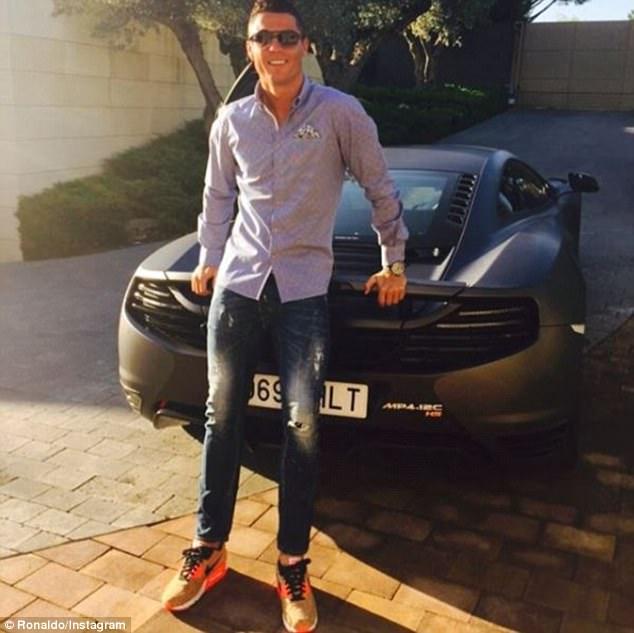 Check out Cristiano Ronaldo