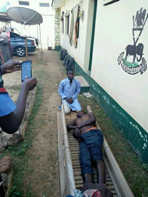Photo: 17 year old teenage boy stabs 25 year old man to death in Kaduna