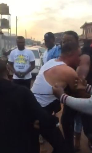 Man sends thugs to beat up a man caught sleeping with his wife in a hotel in Edo (photos)