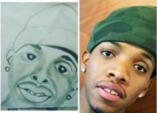 This fan art of Tekno is pure savage!