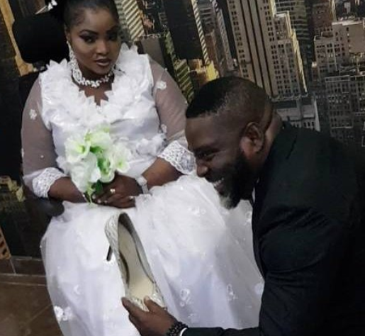 Photos: Music Producer, Puffy Tee marries gospel singer, Busola Oke