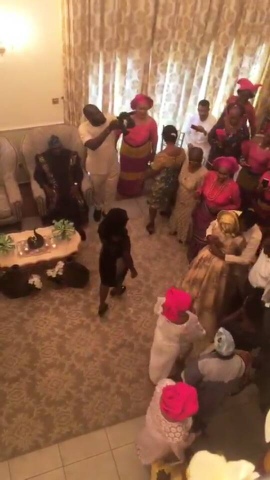 Photos from the wedding introduction of ex-governor, Donald Duke