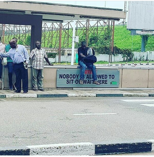 Nigerians... disobeying orders since 1960