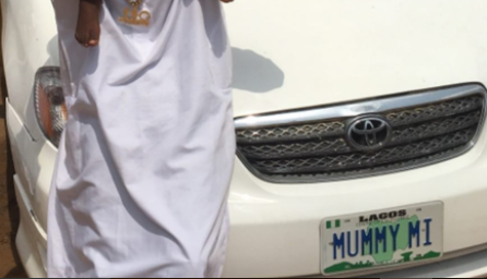 Photo: Small Doctor buys a new car for his mum