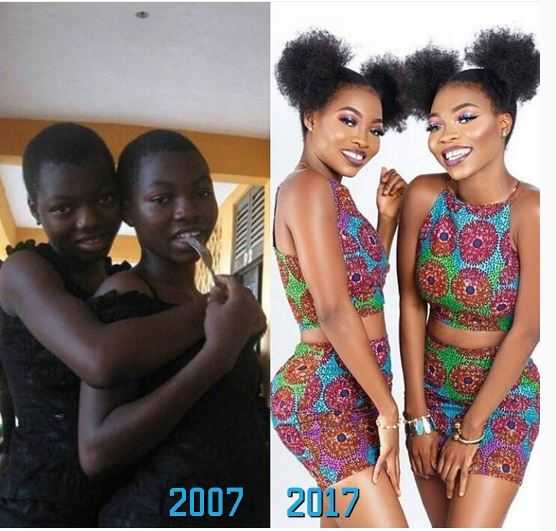 Astonishing transformation of twin sisters! (photo)