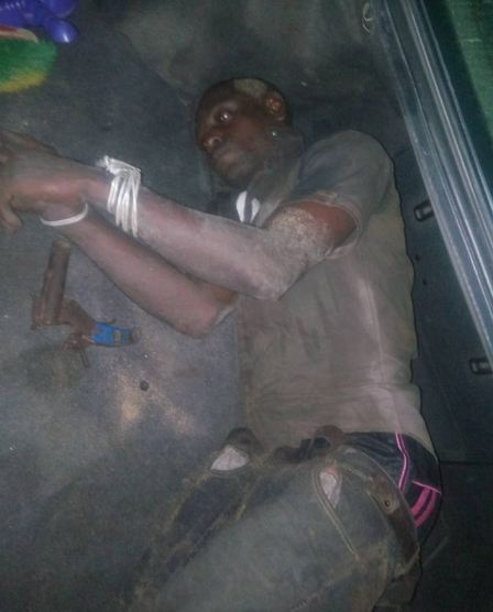 Man who tried to kill his mother arrested in Akwa Ibom state (graphic photos)