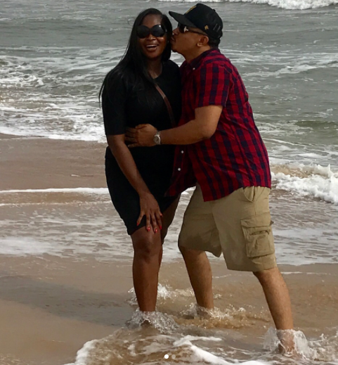 Photos: OAP, Freeze and his wife go on a weekend getaway