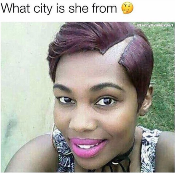 Lol! What city is she from?