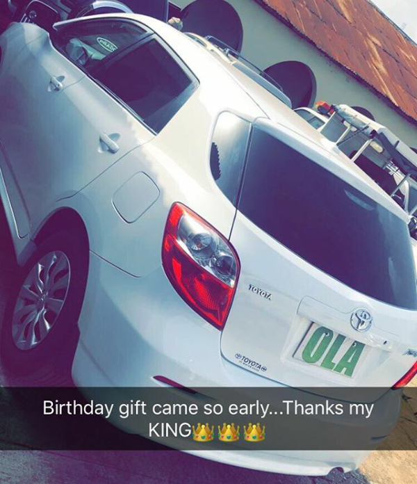 Alaafin of Oyo surprises his youngest wife with brand new car as early birthday gift