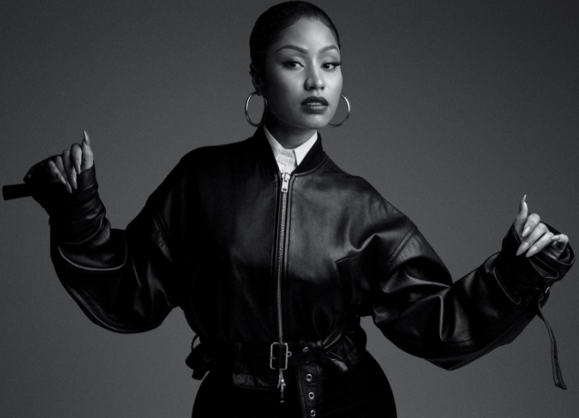 Nicki Minaj looks unrecognizable as she is featured on one of the covers of New York Times
