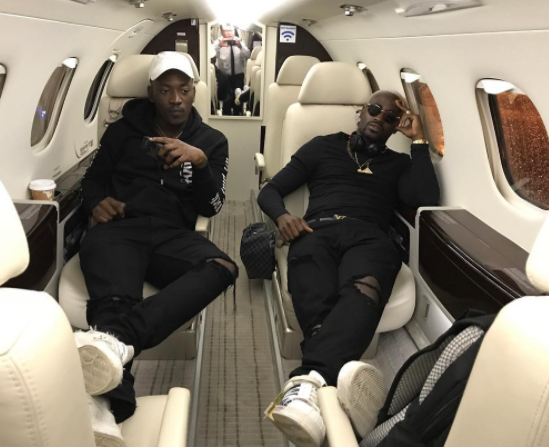 Photos: 6-months after his arrest, Dammy Krane flies in a private jet again