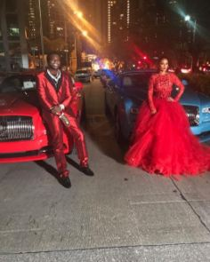 American rapper, Gucci Mane gifts his fiance a new Rolls Royce Wraith ahead of their wedding which will air live today