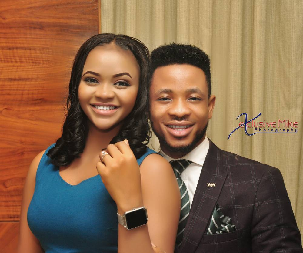 Beauty queen, Ijeoma Okafor Maryann. gets engaged to young pastor! See photos from her engagement