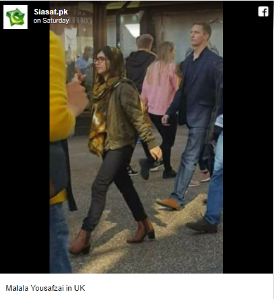 Nobel prize winner Malala Yousafzai trolled in Pakistan for wearing skinny jeans and high heels at Oxford