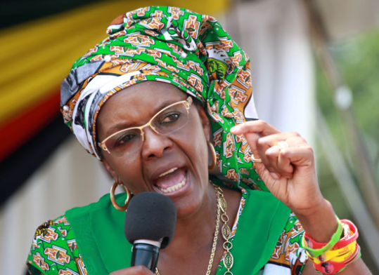 Grace Mugabe sues Lebanese businessman for failing to deliver the $1.35m diamond ring she ordered