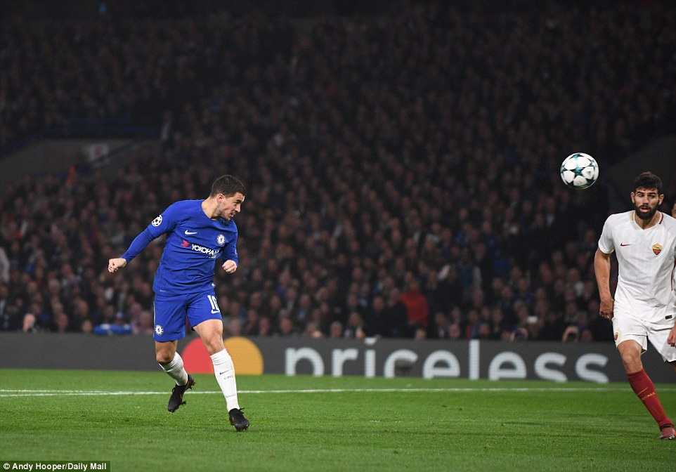 UEFA Champions League: 6 heavenly goals as Roma stun Chelsea 3-3 at Stamford Bridge