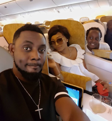 Comedian Ay, wife Mabel and daughter Michelle jet out to Dubai on a family vacation
