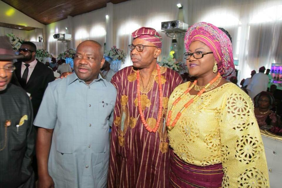 Photos: Bibitayo, daughter of former governor of Ondo state Olusegun Mimiko, weds