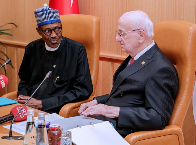 Here's what President Buhari told other world leaders at the D-8 summit in Turkey today!