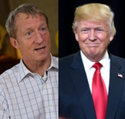 Billionaire environmentalist, Tom Steyer launches a $10 million campaign to impeach Donald Trump