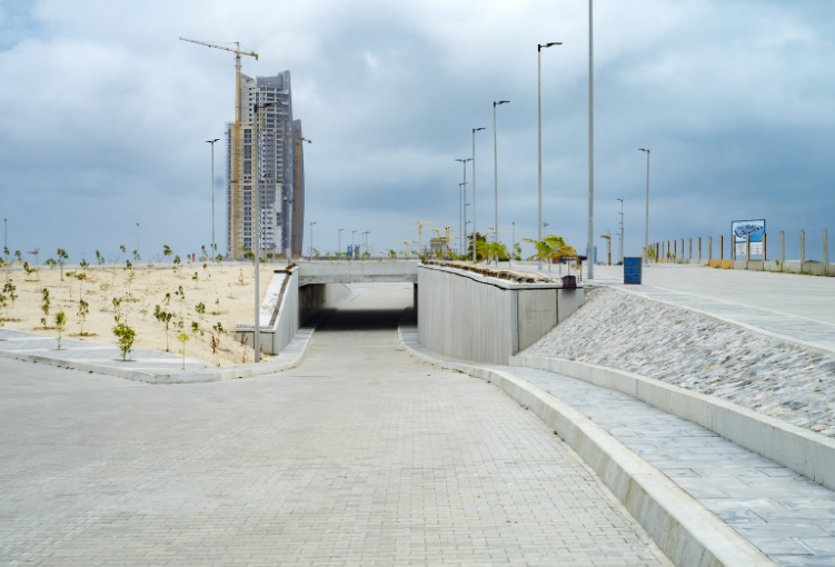 Stunning photos from the Eko Atlantic project in Lagos