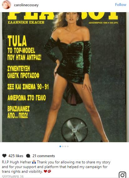 Playboy magazine features first transgender playmate after founder Hugh Hefner